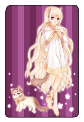 Cora, Guardian Cat by shimoyo