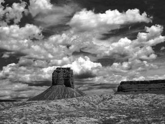 Monument Valley II by Kyntio