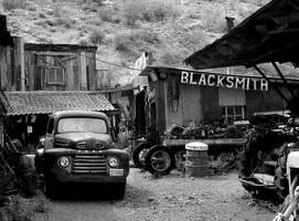 the blacksmith by Kyntio