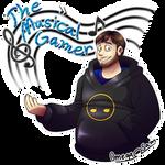 The Musical Gamer by OmegaSam7890