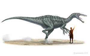Suchomimus tenerensis by paleopeter