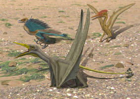 Jurassic crossroads by paleopeter