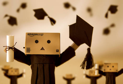 Danbo's Graduation Day by BryPhotography