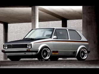 VW golf MK2 by Rugy2000