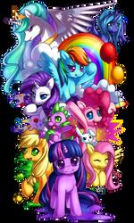 MLP: Friendship is Magic by Jiayi
