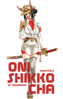ADOPTABLE [Oni Shikko-Cha] by Redmaiden by Alnos