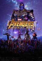 Avengers- Infinity War 2018 by ArtsGFX99