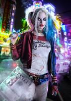 Margot Robbie as Harley Quinn by ArtsGFX99