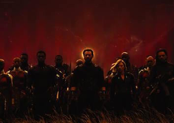 Avengers- Infinity War Wallpaper by ArtsGFX99