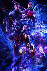 Avengers: Infinity War 2019 - Poster by ArtsGFX99