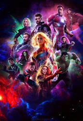 Avengers 4: Endgame - Poster by ArtsGFX99