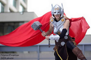 Thor by Cosmic-Empress