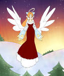 Merry Christmas! a sweet angel! by Abel-Killed-Cain
