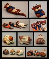 John Hedgehogs and Sherlock Otters by EatToast