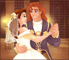 Belle's Wedding by madam-marla