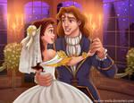 Belle's Wedding by madam-marla