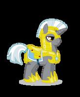 Unicorn Royal Guard revectorized by Kna