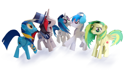 brony musicians finished photo by Kna