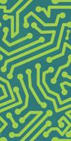 Tile electronics Seamless Pattern by Kna
