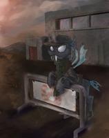 Fallout Equestria Flint OC Commission by Kna