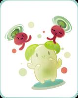 Cute Spirit from Korra ep 01 4 by Kna
