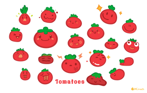 Tomatoes by Kna