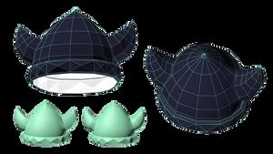 3d Prop Viking helmet by Kna