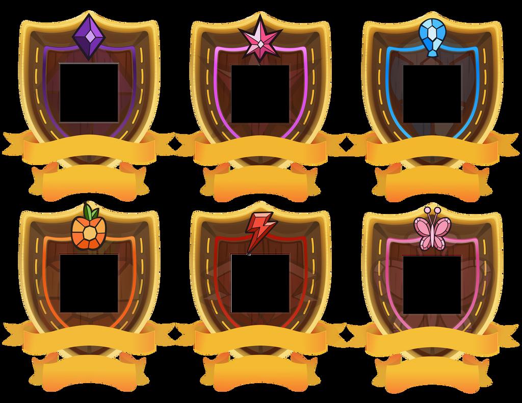 Rank two Shields for GeneralDurandal by Kna