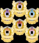 Rank 4 Shields for GeneralDurandal by Kna