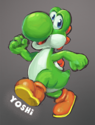 Yoshi practise by Kna