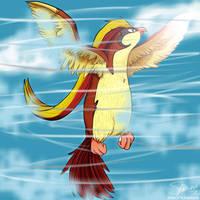 #15 Pidgeot by SyaOfKanada