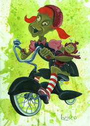 Sugar Fueled Ride by FesterBZombie