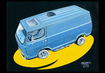 Chevy Foward Control Van by FesterBZombie