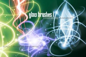 Glow Brushes by illustratorcs6