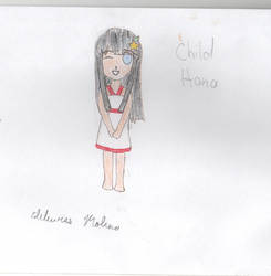 Child Hana by ChristinaMonitora
