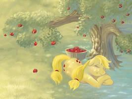Sleepy Applejack by Boiler3