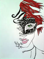 Masquerade by JustHereToView