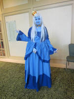 AWA Con 2011: Ice Queen by clockworkcosplay