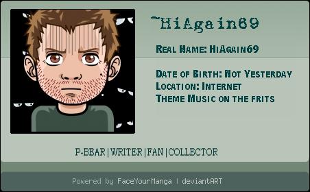 HiAgain69's Profile Picture