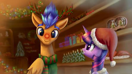 Christmas Shopping by NightPaint12
