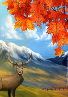 Herfst (purchasable background) by HuntingForBeasts