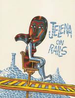 Jelena On Rails by izitmee