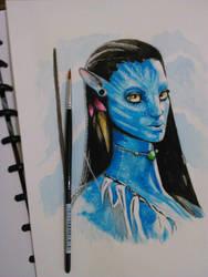 Neytiri 'Avatar' :) by Novijoyful