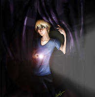 psychadelicsnake: It's behind You by animemangetsu