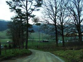 Gravel roads. by amamiiya