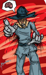 DSC Scarecrow (Wizard of Oz) by A-Deadless-Mad-Man