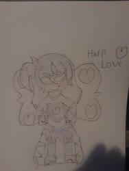 Harp Love by Winged-Akatsuki