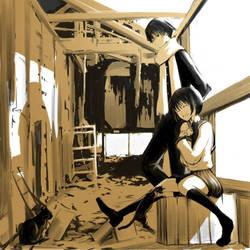 secret hideout by Hiroki-Nyaa