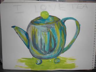 my crazy teapot by sineadikins