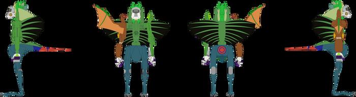 Gravity Megazord by Artapon
